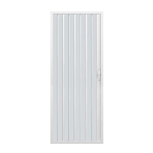 Duschtür 110cm in PVC Mod. Jungfrau mit seitlicher Öffnung