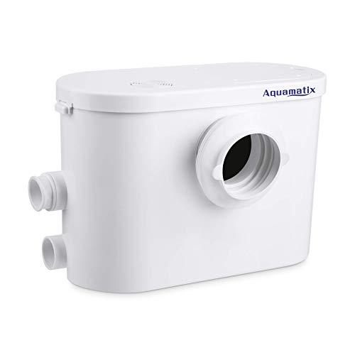 Aquamatix Silencio 3 - Hebeanlage Abwasserpumpe Haushaltspumpe für WC Dusche 400W Leise