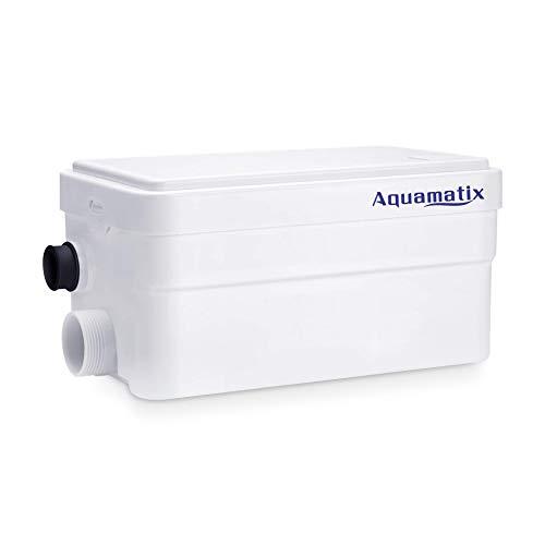 Aquamatix Duscha Hebeanlage 250W Kompakte Abwasserpumpe, Haushaltspumpe für Dusche 25dB Leise
