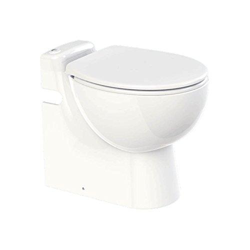 SFA Sanibroy Lomac Gestolette 1010 Keramik Stand WC mit integrierter Hebeanlage Pumpe Fäkalienpumpe Abwasserpumpe