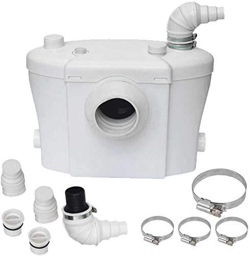 LeMeiZhiJia 700W Haushaltspumpe Fäkalienhebeanlage, Schmutzwasserpumpen für WC, Dusche, Waschbecken, Hebeanlage Fäkalienpumpe
