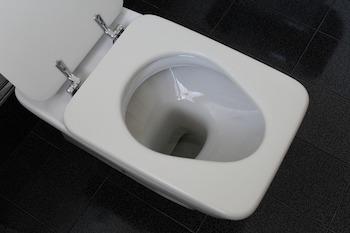 Schöne Toilette